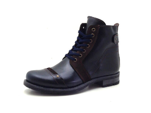 True MerLacets Bottines Hommes Wool Bottes Bleu De De Chaussures 314 Bord nPwkX8O0