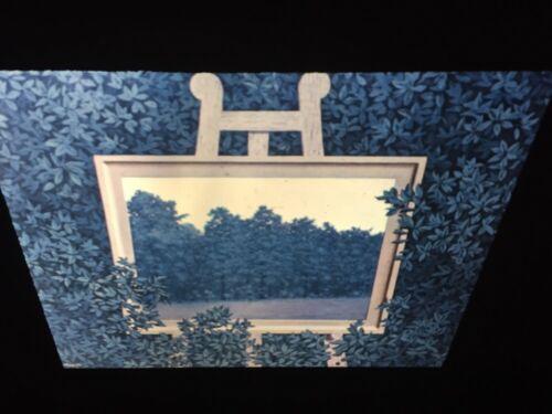 "Rene Magritte /""Waterfall/"" 35mm Surrealism Belgian Modern Art Slide"