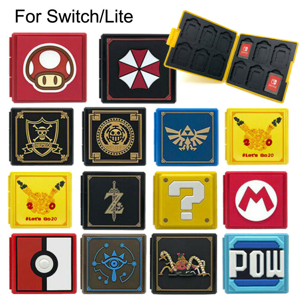 For Nintendo Switch/Lite Game Card Case Holder Storage Travel Protecto... - s l1600