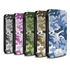 Case-Wallet-for-Apple-iPhone-8-Camouflage-Army-Navy