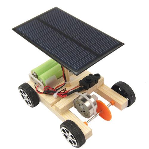 Physik Wissenschafts Bildungs Solar scherzt Automodell Solarmotor Hand auf
