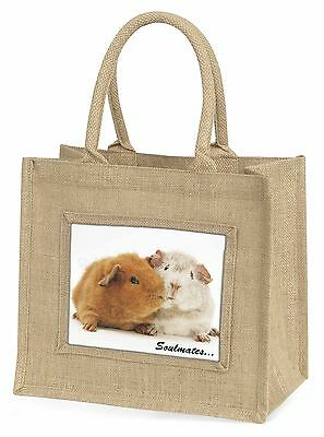 Soulmates' Meerschweinchen Große Natürliche Jute-einkaufstasche