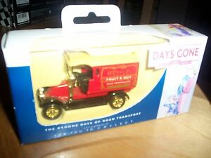 lledo days gone diecast renault van nestle fruit and nut NIB - <span itemprop=availableAtOrFrom>hampton, Middlesex, United Kingdom</span> - lledo days gone diecast renault van nestle fruit and nut NIB - hampton, Middlesex, United Kingdom