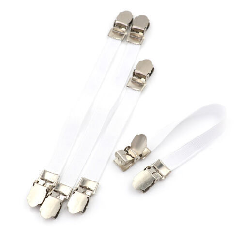 4 x Ironing Board Cover Clip Fasteners Tight Fit Elastic Brace Ties Straps Gr ly