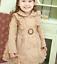 Girls-Double-Breasted-Ruffle-Trench-Coat-Long-Sleeve-Lace-Princess-Jacket-Dress thumbnail 1
