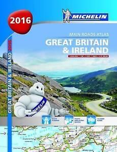 Good-Great-Britain-amp-Ireland-2016-Michelin-main-roads-atlas-A4-paperback