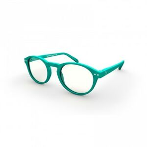 81821f8ad126 Turquoise Gaming Glasses Anti Glare Clear Lens Gaming PC Gamers Blue ...