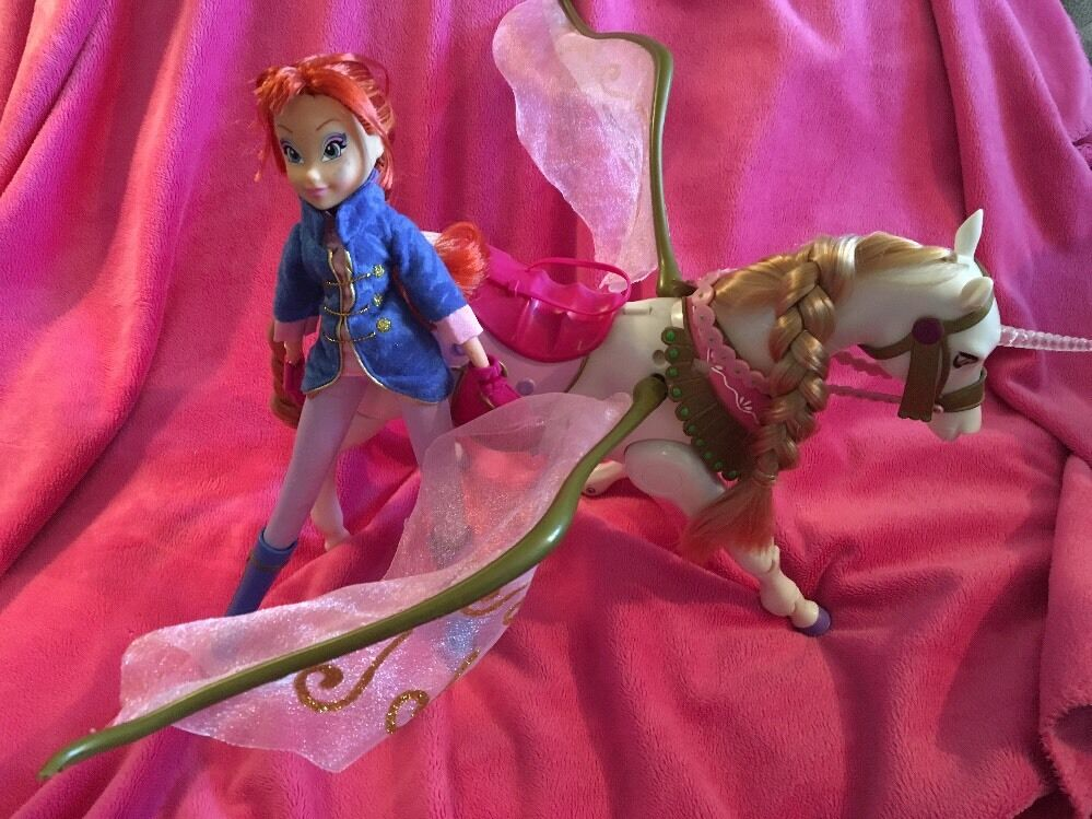 Winx Bloom & Walking Unicorn Very Hard To Find Highly Collectable