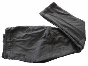 Pantalone-Lungo-Aeronautica-militare-Pant-uomo-man-6-tasche-grigio-grey-XL-963CT