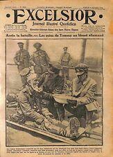 Tommy British Army Red Cross Feldgrauen Prisoners Bataille de la Somme WWI 1916