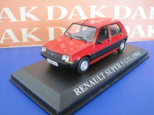 Die cast 1//43 Modellino Auto Renault 5 Super GTL 1984