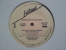 Frankie goes to Hollywood: Welcome to the pleasuredome US 12'' Disco Vinyl PROMO