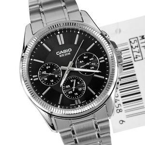 Casio-Watch-MTP-1375D-1A-Wrist-Analog-Classic-Watch-Stainless-Steel-montre-reloj
