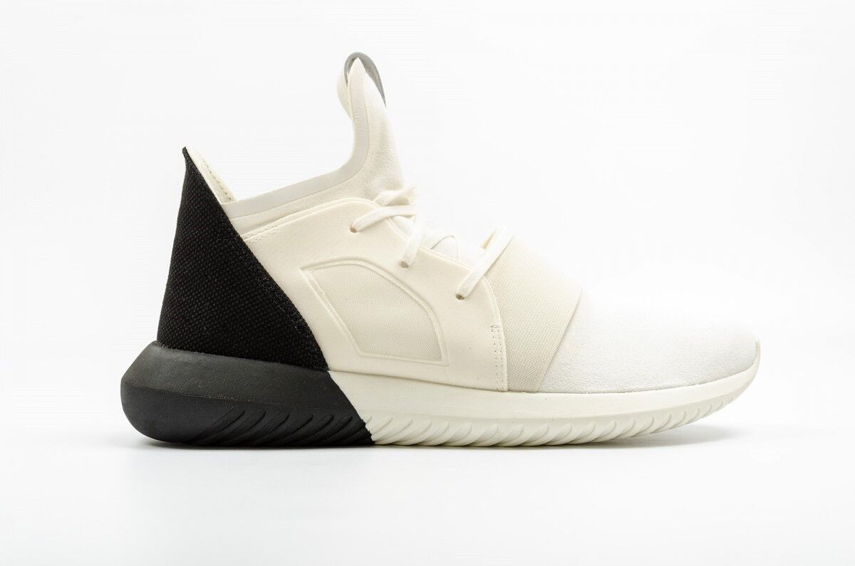 ADIDAS ORIGINALS TUBULAR DEFIANT WOMENS TRAINERS CREAM UK SIZE 3.5 - 6.5