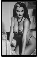 Sexy Lily Munster Pinup Refrigerator / Tool Box Magnet