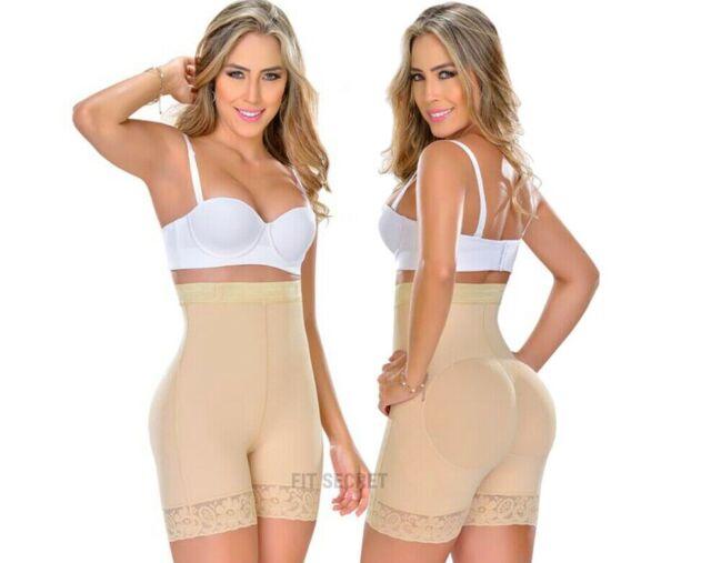 Faja Colombiana Levanta Cola High-Waisted Classic Panty Body Shaper Butt Lifter