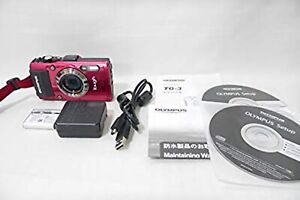 Details about Olympus Stylus Tough TG-3 16 0MP Digital Camera Red 15m  waterproof WIFI GPS USED
