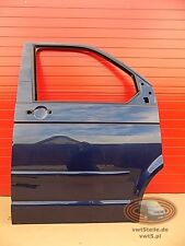 VW T5 Right front door dark blue metallic | Beifahrertür tür rechte Marineblau