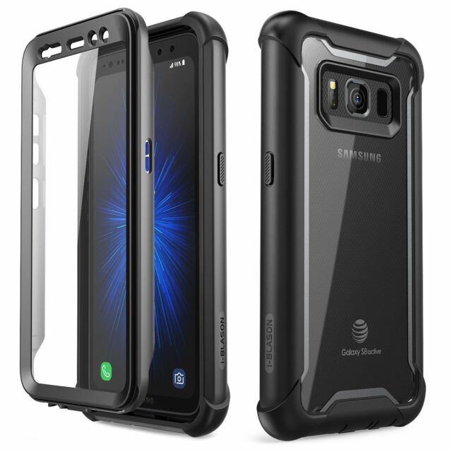 new concept 56983 88321 For Samsung Galaxy S8 Active Case Full Cover i-Blason ARES with Screen  Protector