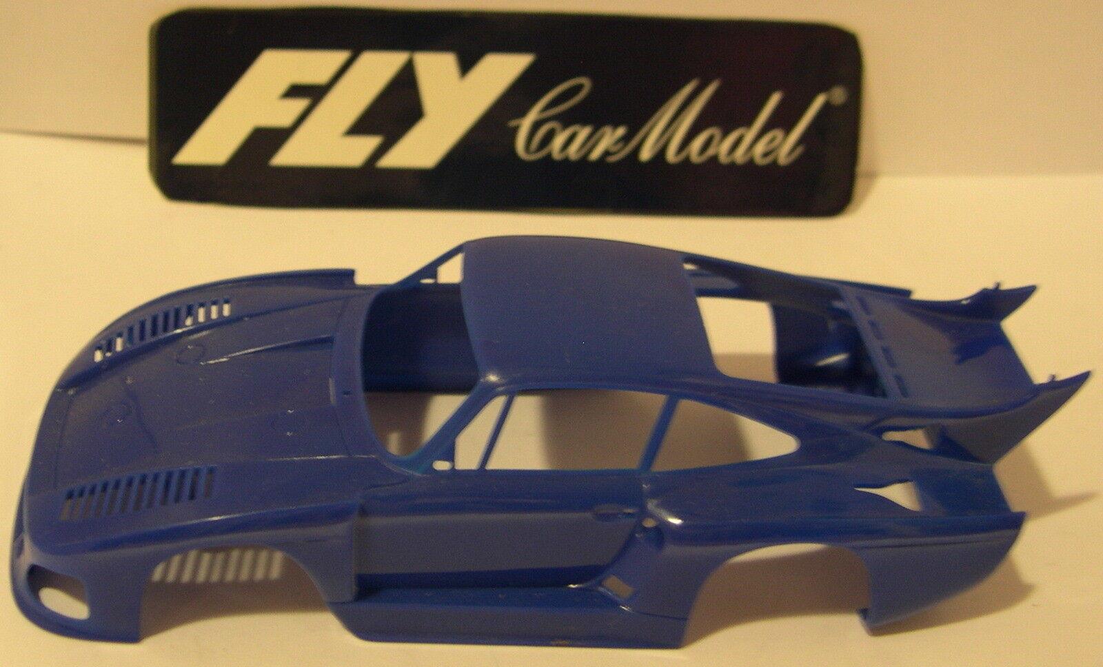 Fliegen Karosserie Porsche 935 K3 Blau Test der Form Mint