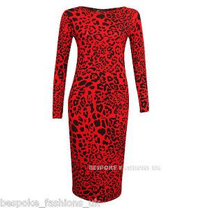 Red leopard dress plus size