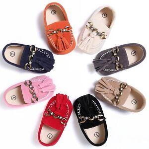 Baby-Boys-Girls-Tassel-Soft-Moccasin-Slip-On-Shoes-Infant-Kids-Prewalker-Sneaker