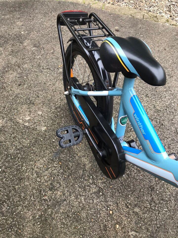 Unisex børnecykel, citybike, Winther
