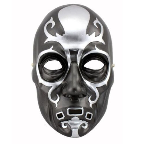 Harry Potter Death Eater Resin Mask Cosplay Halloween Battle Lucius Malfoy Mask