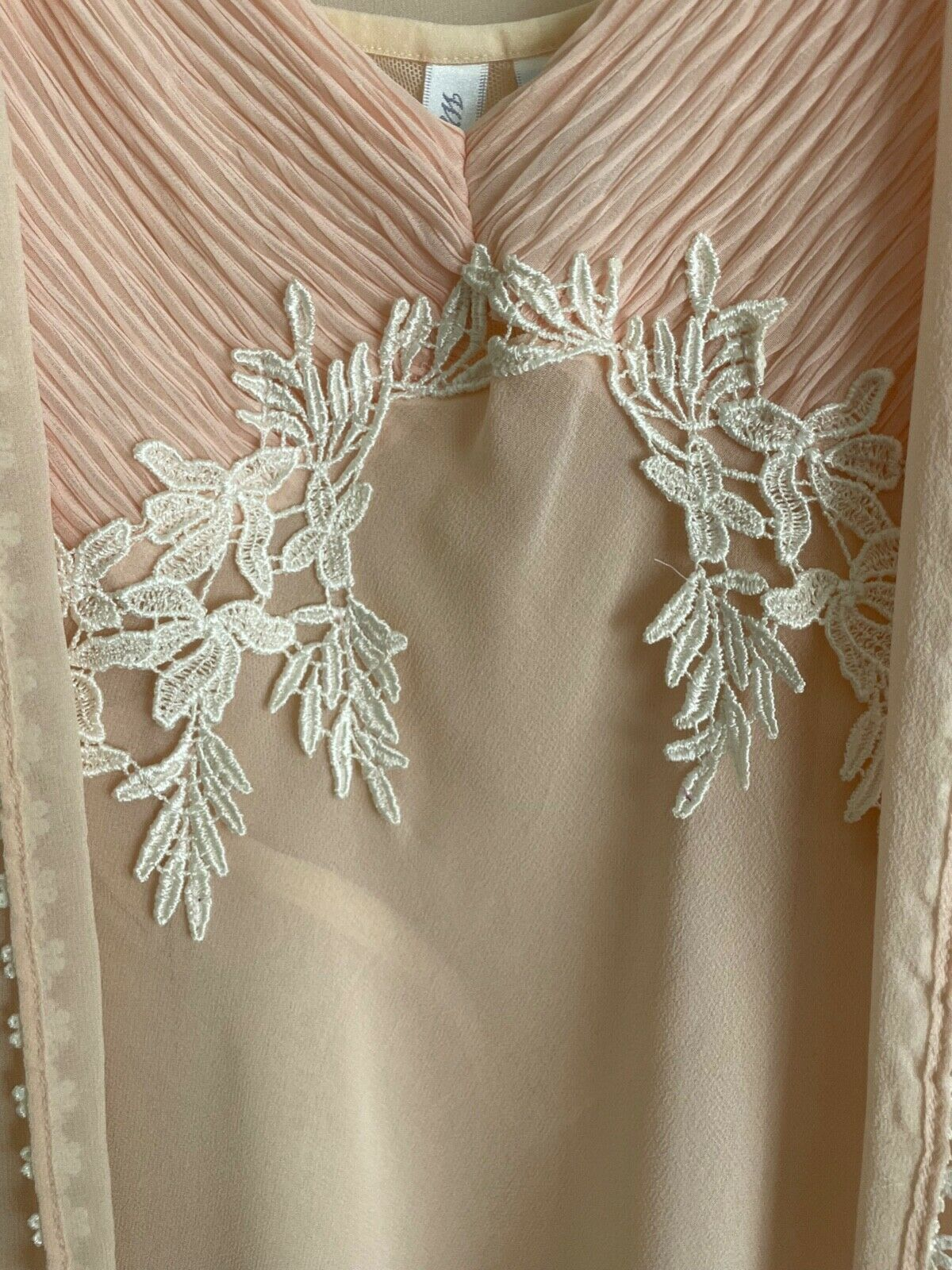 Willow Blossom, Women's Silk Robe & Gown - image 3