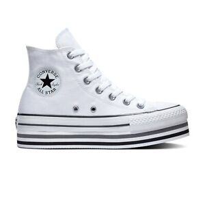 scarpe zeppa converse