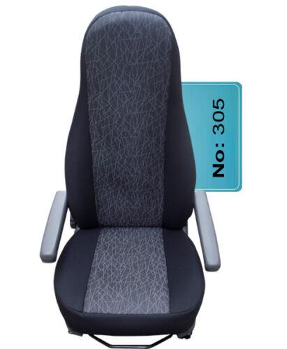 Wohnmobil Sitzbezug Sitzbezüge Schonbezug Schonbezüge 2 Stück Schwarz 305
