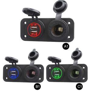 12V-Car-Boat-Caravan-Dual-USB-Cigarette-Lighter-Socket-Splitter-Charger-Adapter