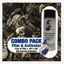 Hydrographic Film Activator Skull Power Hydro Dip Dipping Wizard