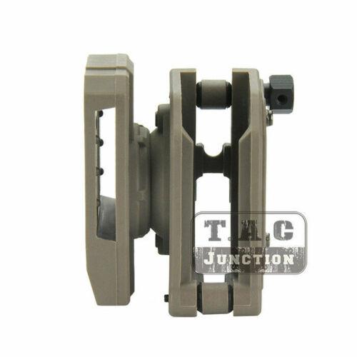 "IPSC USPSA 1.5/"" Shooting Belt 4x Multi-Angle High Speed Pistol Magazine Pouch"