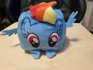 My Little Pony Rainbow Dash Cube Plush Stuffed Animal Cubd Hasbro
