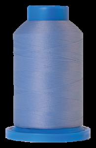 Hell azul Bauschgarn 1000 metros color: 0818 seraflock