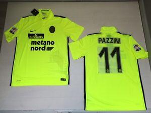 Actif 3557 Hellas Verona Nike Tricot Haut Course Pazzini Third Haut Match Jersey