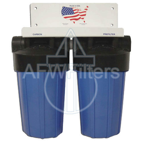 10-inch 2 Stage Big Blue Whole House Filter