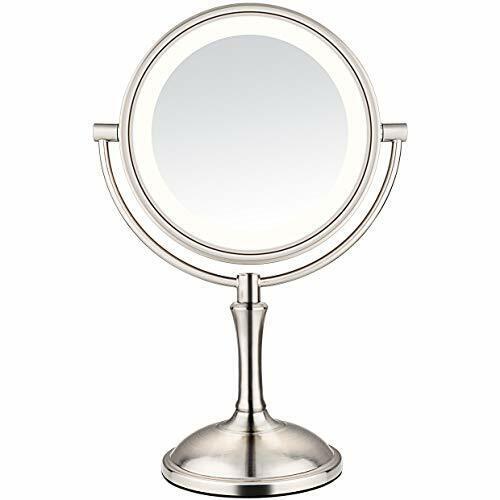 Lighted Makeup Magnifying Mirror 1x 10x, Kedsum 6 8 10x Magnifying Led Lighted Makeup Mirror