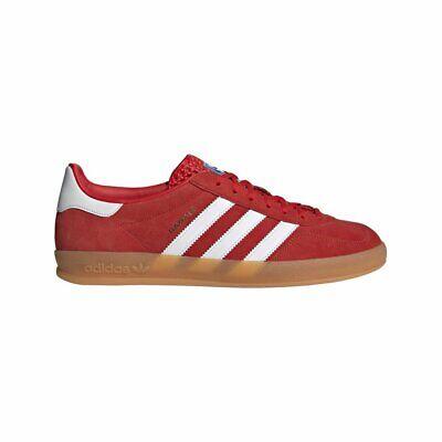 adidas Gazelle Indoor Chaussures Rouge Homme | eBay