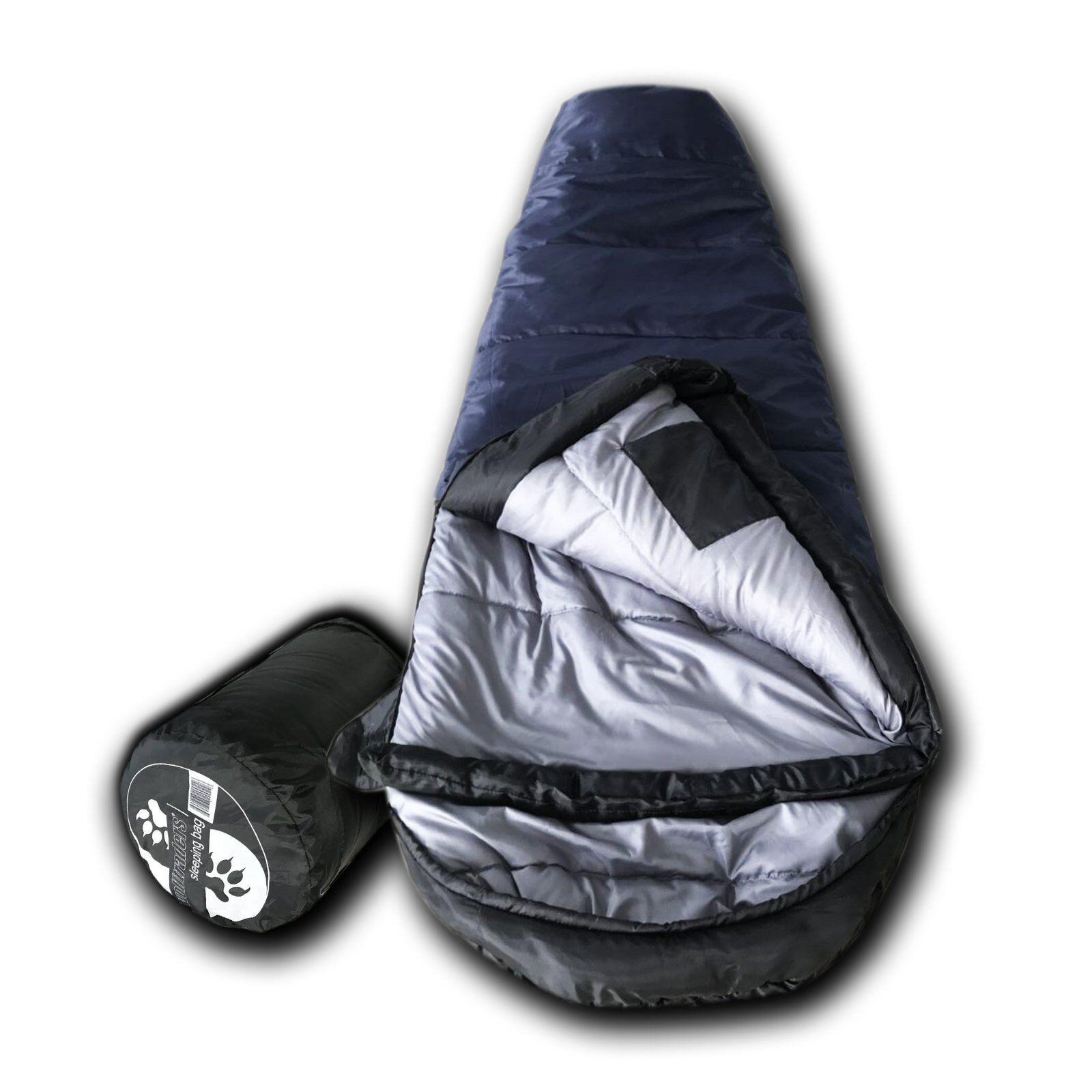 Wolftraders KidMummy +20 Degree Premium Synthetic Down Youth Mummy Sleeping Bag