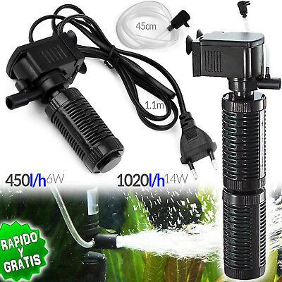 Pumps (water) Diligent Pompe Submersible Filtre à Eau Oxygénateur 6w 14w Purificateur Aquarium Aquarium Chills And Pains