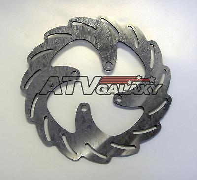 Streamline Front Pair Brake Rotors Kawasaki KFX450R KFX450 08 09 10 11 12 13 14