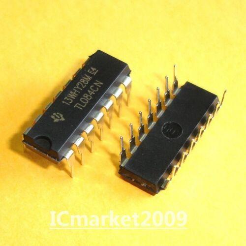 50 PCS TL084CN TI DIP-14 TL084 OPERATIONAL AMPLIFIERS NEW