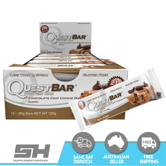QUEST BARS NUTRITION BOX OF 12 AMAZING TASTE PROTEIN BAR ONE
