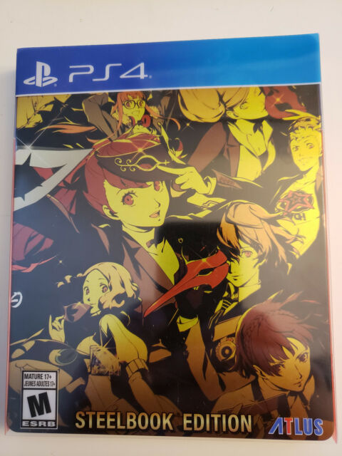Persona 5 Royal: Steelbook Launch Edition (PlayStation 4, 2020)