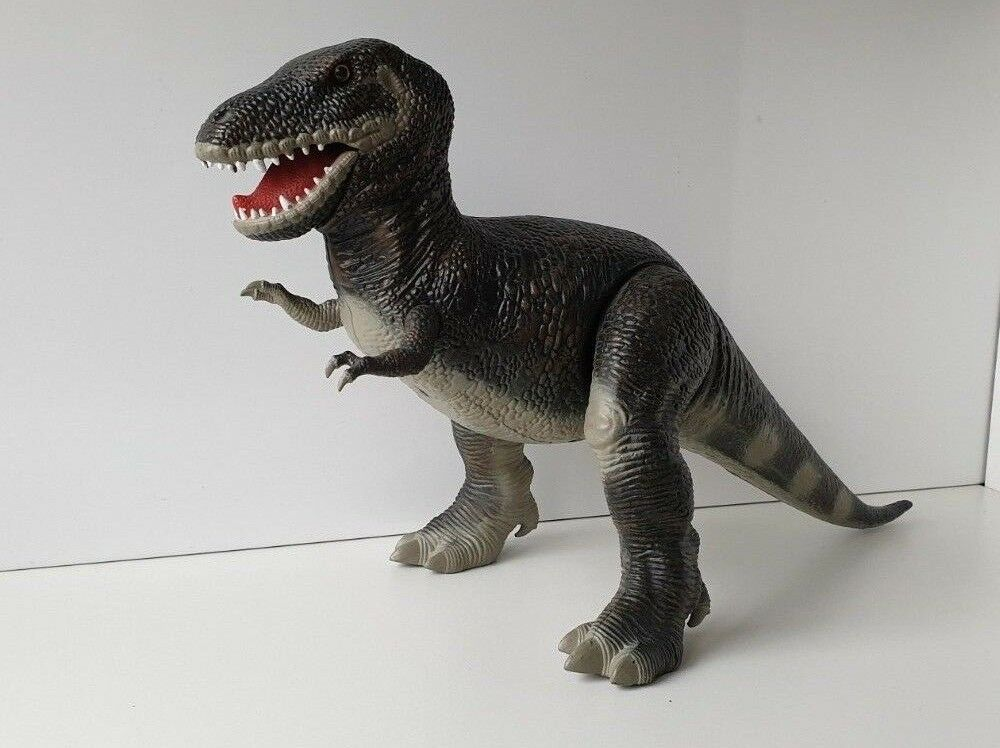 DINO RIDERS T-REX SMITHSONIAN EXCLUSIVE NON-MOTORIZED VERSION 1988 TYCO