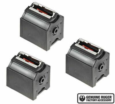 Ruger 10//22 BX-1 22LR 10 Round Magazine Black 3 Pack 10rd Mag 90451 Factory OEM