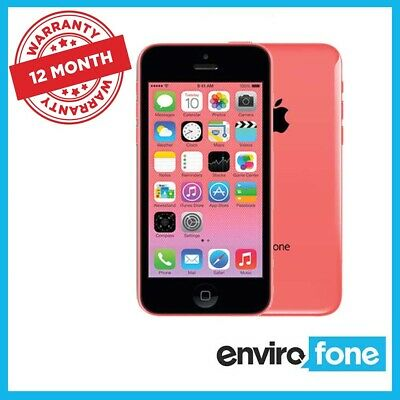 Apple iPhone 5C 8GB 16GB 32GB All Colours Unlocked Refurbished Smartphone