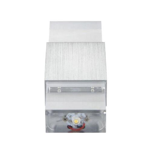 2W moderne LED-Wand-Licht-Lampenschirm KTV